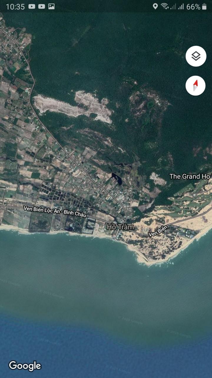 Vị trí khu dân cư Happy Garden Hồ Tràm Xuyên Mộc Bà Rịa Vũng Tàu