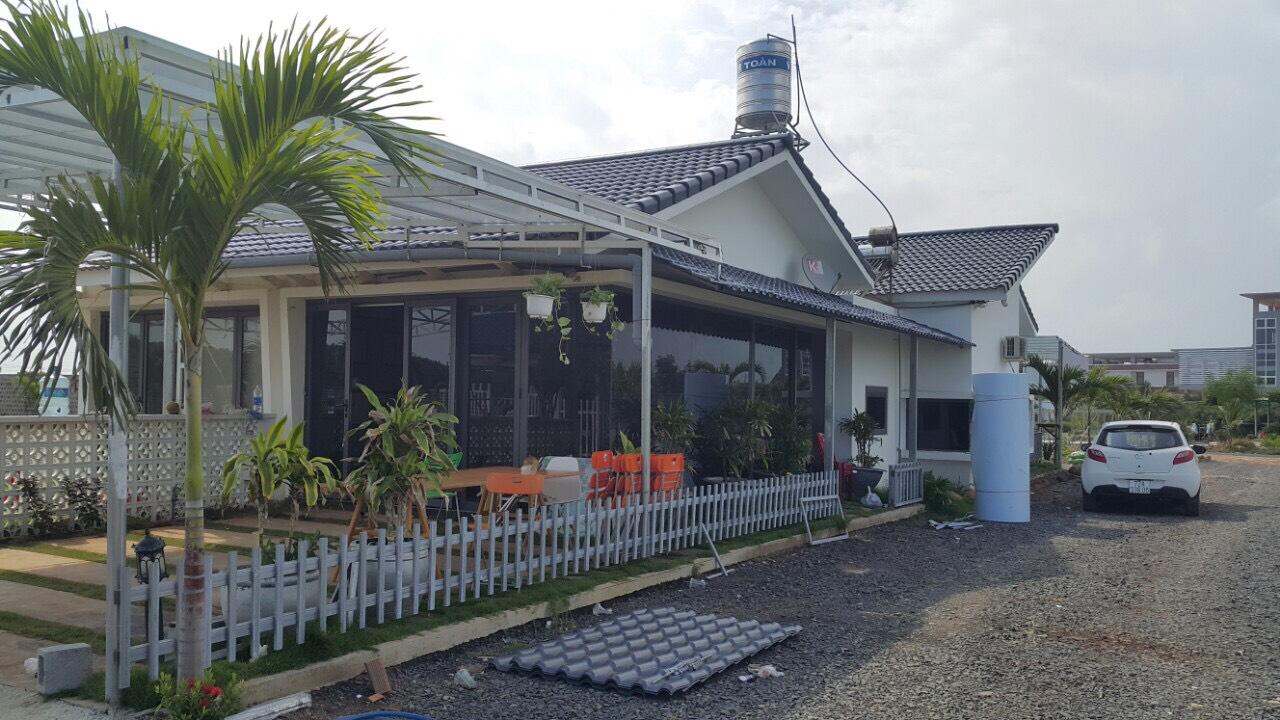 Hình ảnh thực tế dự án khu dân cư Happy Garden Hồ Tràm Bà Rịa Vũng Tàu
