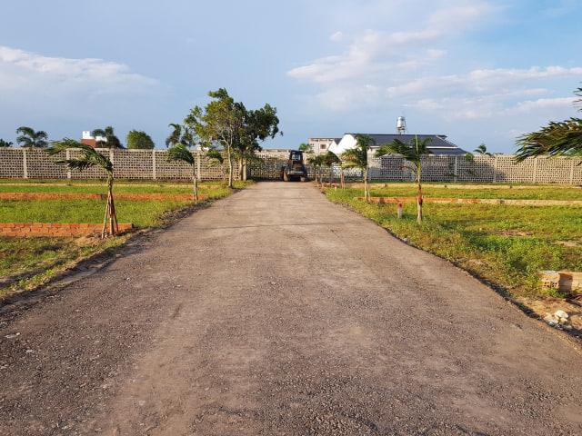 Hình ảnh thực tế khu dân cư Happy Garden Hồ Tràm Xuyên Mộc Bà Rịa Vũng Tàu