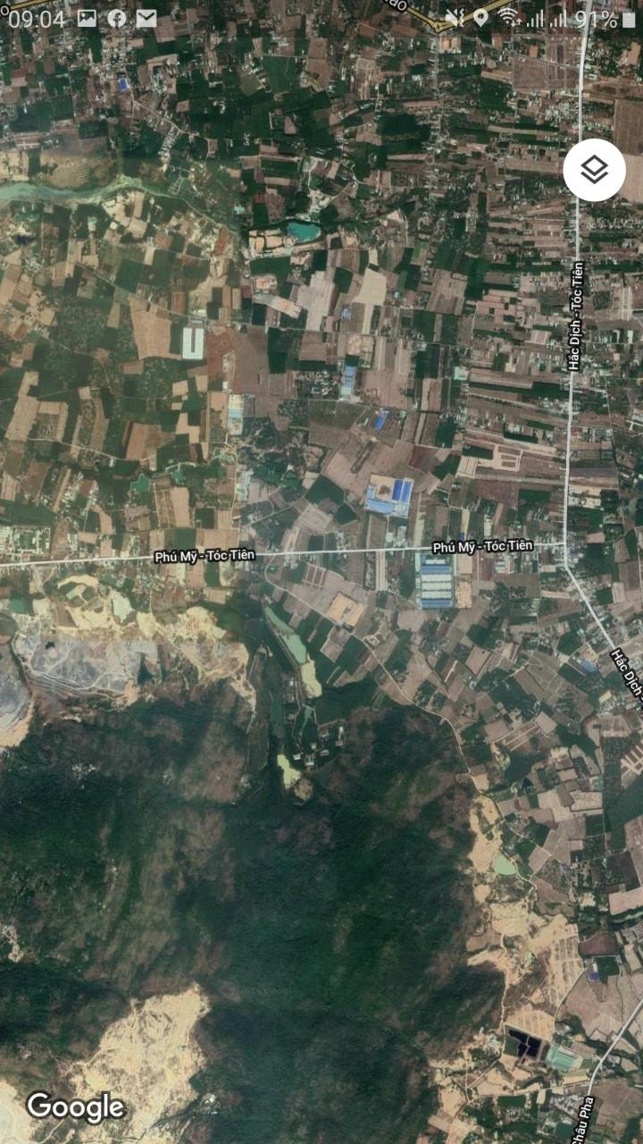 Sơ đồ vị trí khu đất Tóc Tiên Town 1